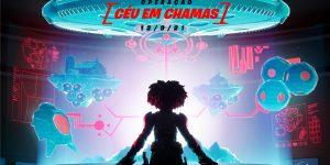 Imagem promocional do evento Operação: Céu em Chamas (Imagem: Divulgação/Fortnite | Epic Games)