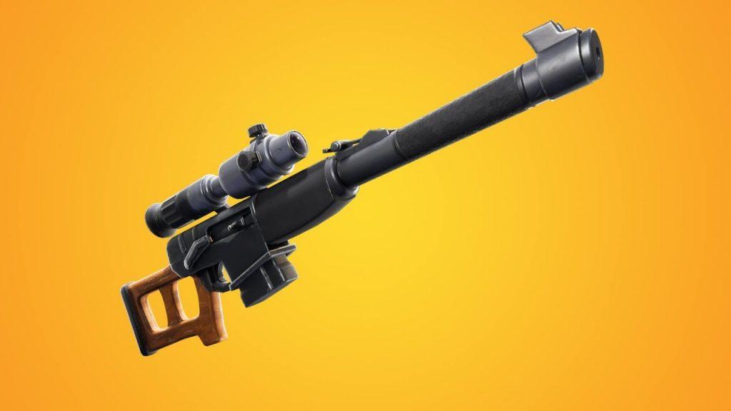 Rifle de precisão automático (Imagem: Divulgação/Epic Games)