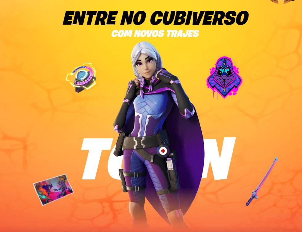Torin, uma das novas skins do passe de batalha (Imagem: Divulgação/Epic Games)