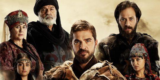 Alguns dos personagens centrais da série Resurrection Ertugrul (Imagem: Divulgação/TRT 1   Netflix)