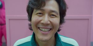 Jung-jae Lee como Seong Gi-Hun em Round 6 (Imagem: Divulgação/Netflix)