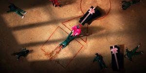 Imagem promocional da série Round 6 (Imagem: Divulgação/Siren Pictures Inc.   Netflix)