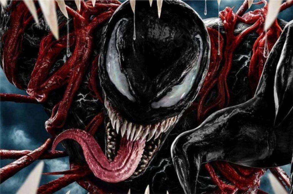 Imagem do poster promocional de Venom 2: Tempo de Carnificina (Imagem: Divulgação/Sony Pictures | Marvel)
