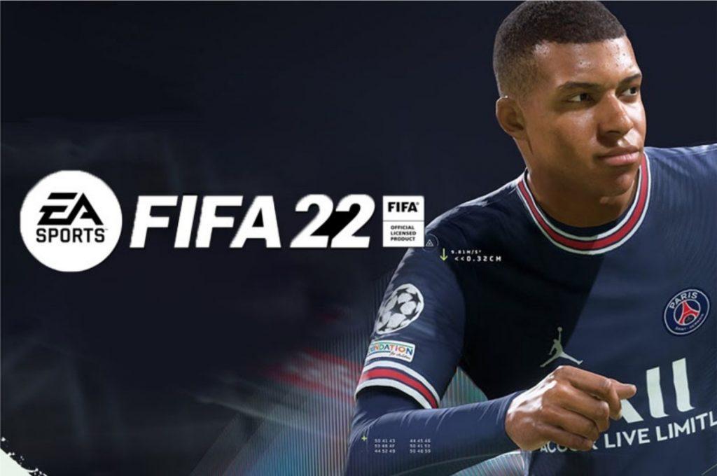 Imagem promocional do FIFA 22, lançado no dia 01 de outubro (Imagem: Divulgação/EA)