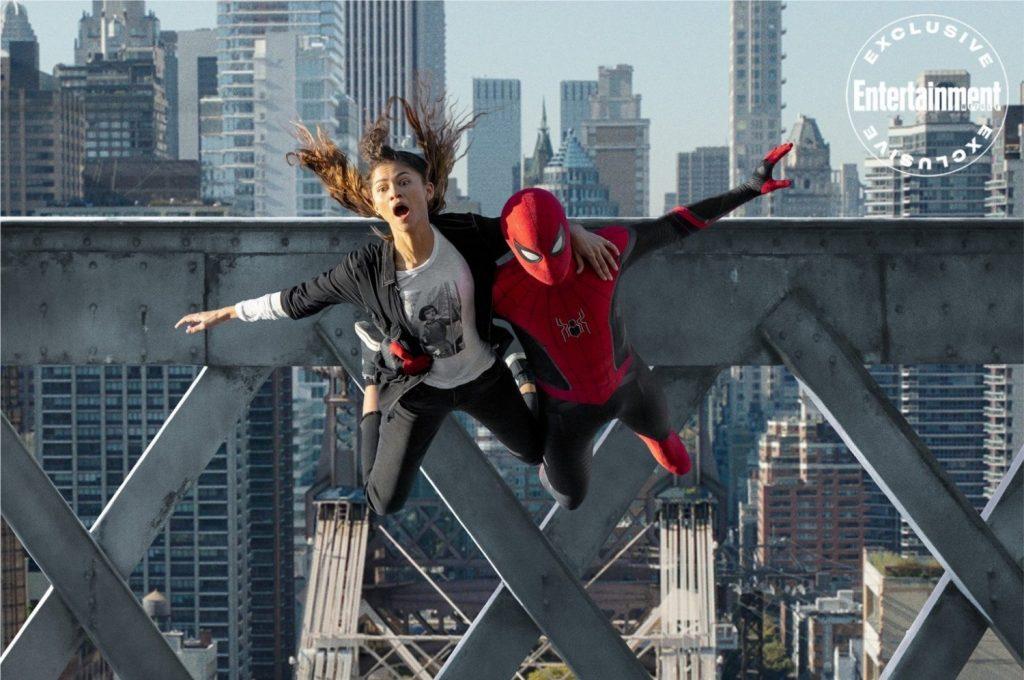 Nova imagem de Homem-Aranha: Sem Volta Para Casa divulgada recentemente pela Sony (Imagem: Reprodução/Entertainment Weekly)