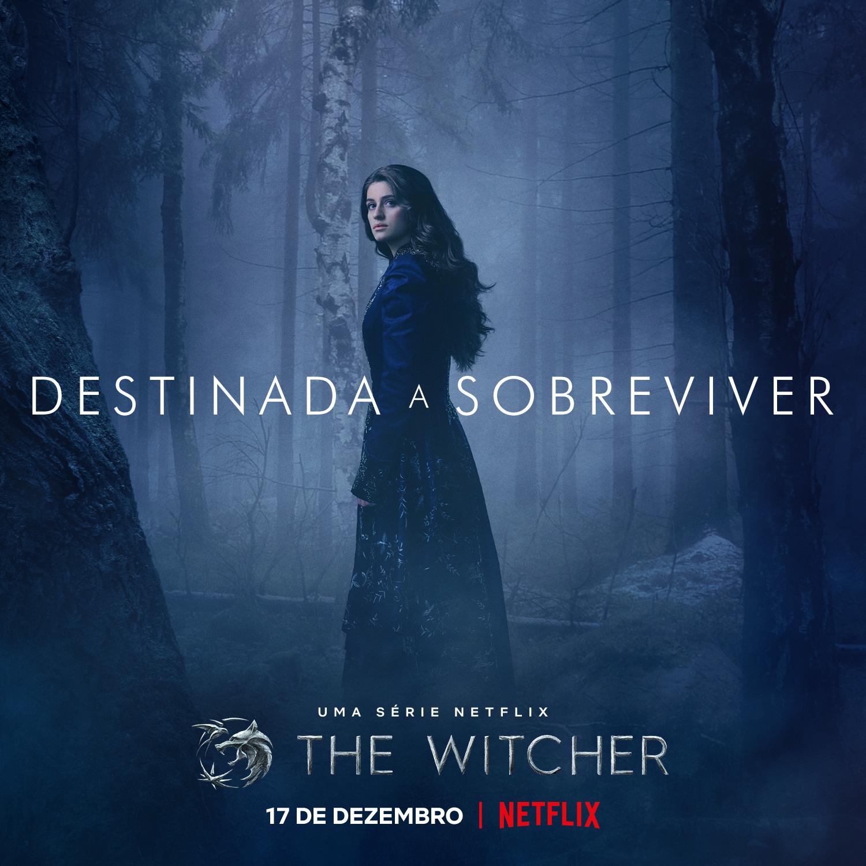 Pôster Yennefer 2ª temporada de The Witcher