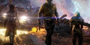 Outriders é um dos novos jogos da versão de PC do Xbox Game Pass (Imagem: Reprodução/Square Enix)
